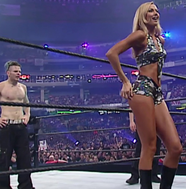 Stacy Keibler Wrestlemania
