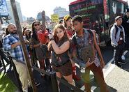 New York Comic Con 2015 - Ash vs Evil Dead event 010