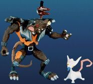 Toy evil henchrat