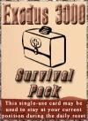 Card survival