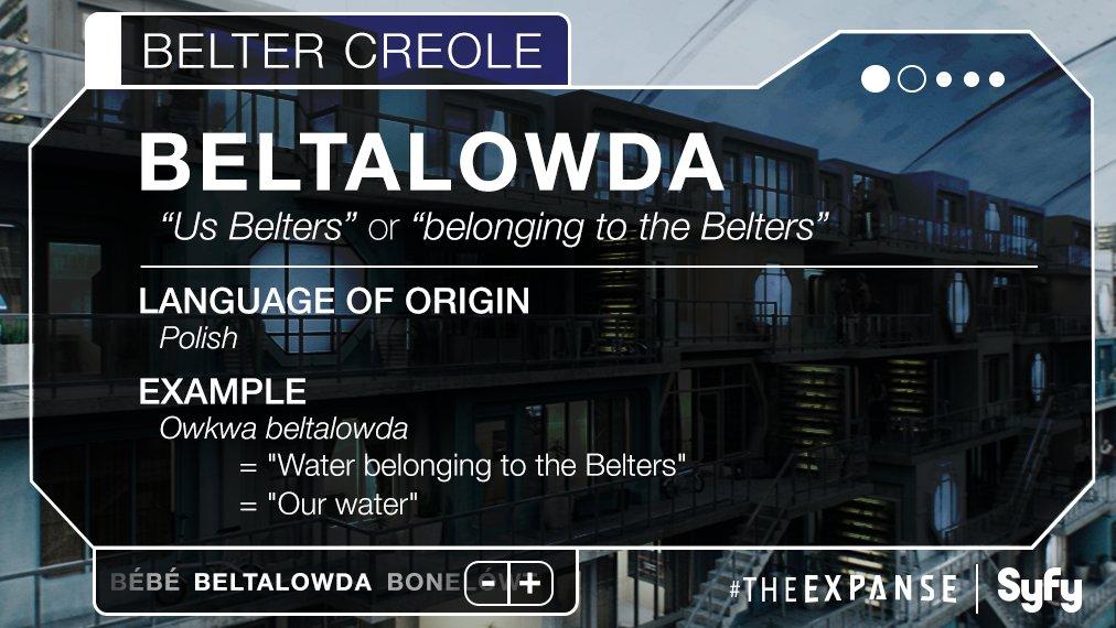 belter creole  expanse wiki fandom powered  wikia