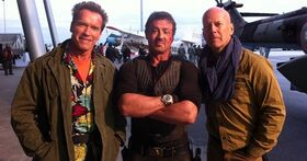 Stallone-Schwarzenegger-and-Willis-in-Expendables-2