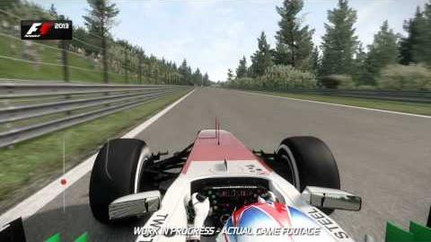 F1 2013 Spa Francorchamps Hotlap