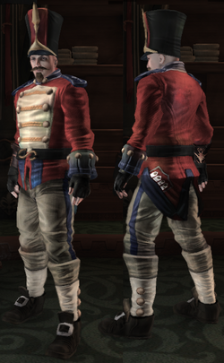 Bowerstone Soldier Uniform alt