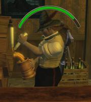 Fable 2 bartender