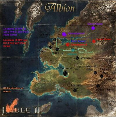 Fable III Albion compared with FII