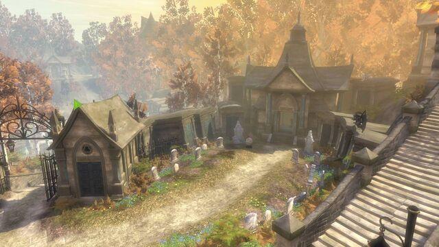 File:Bowerstone Cemetery Autumn.jpg