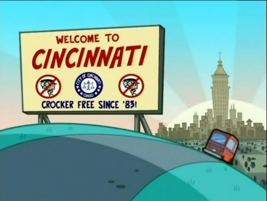 Cincinnati on The Fairly Oddparents Denzel Crocker Fairies