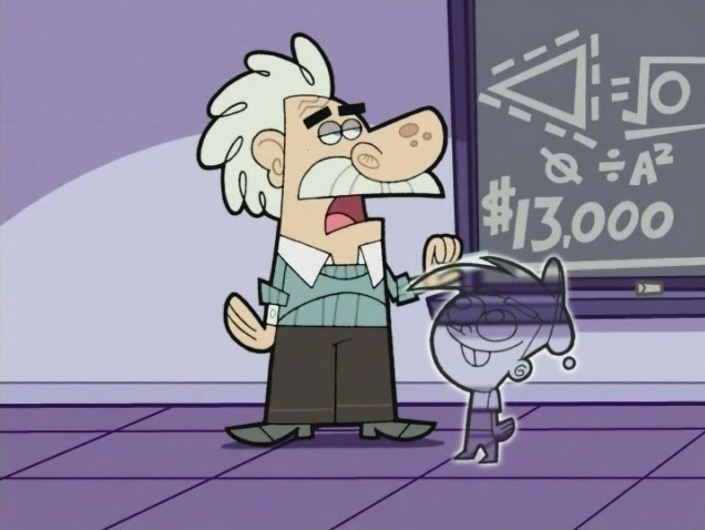 The Math Teacher on fairly odd parents timvisible