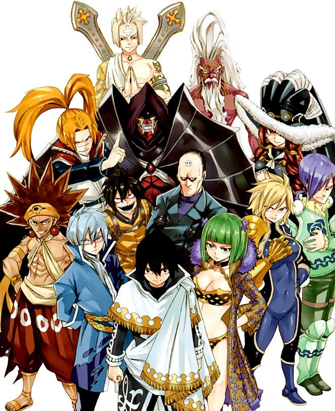 Spriggan 12 | Fairy Tail Wiki | Fandom powered by Wikia