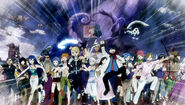 Edolas Fairy Tail goes into battle