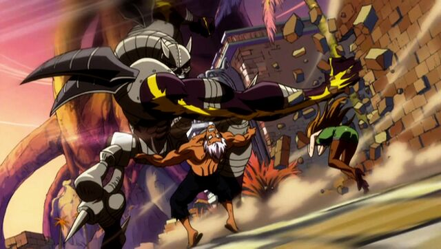 File:Elfman and Evergreen battling Rustyrose.jpg