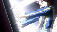 Natsu opens the trap