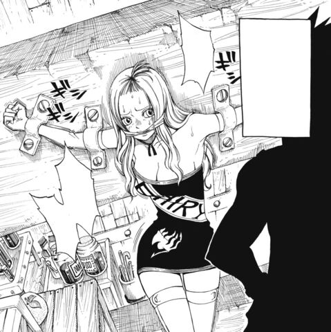 File:Mirajane chained by Gajeel.jpg