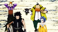 Gajeel, Pantherlily and Shadow Gear Head Home