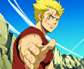 Let's hold hands with Laxus