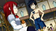 Erza and Gray - hard begining