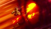 Natsu tries to attack Keyes