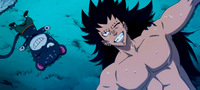 Gajeel and Lily look at the stars