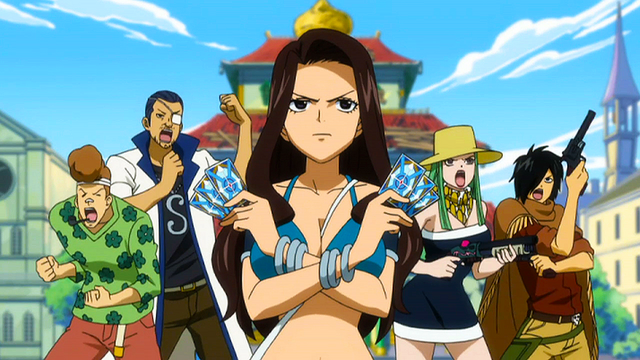File:Cana leads Fairy Tail's Defenses.png