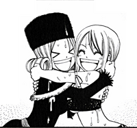 Lucy and Juvia friends