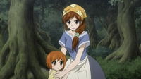 Mako protecting her child