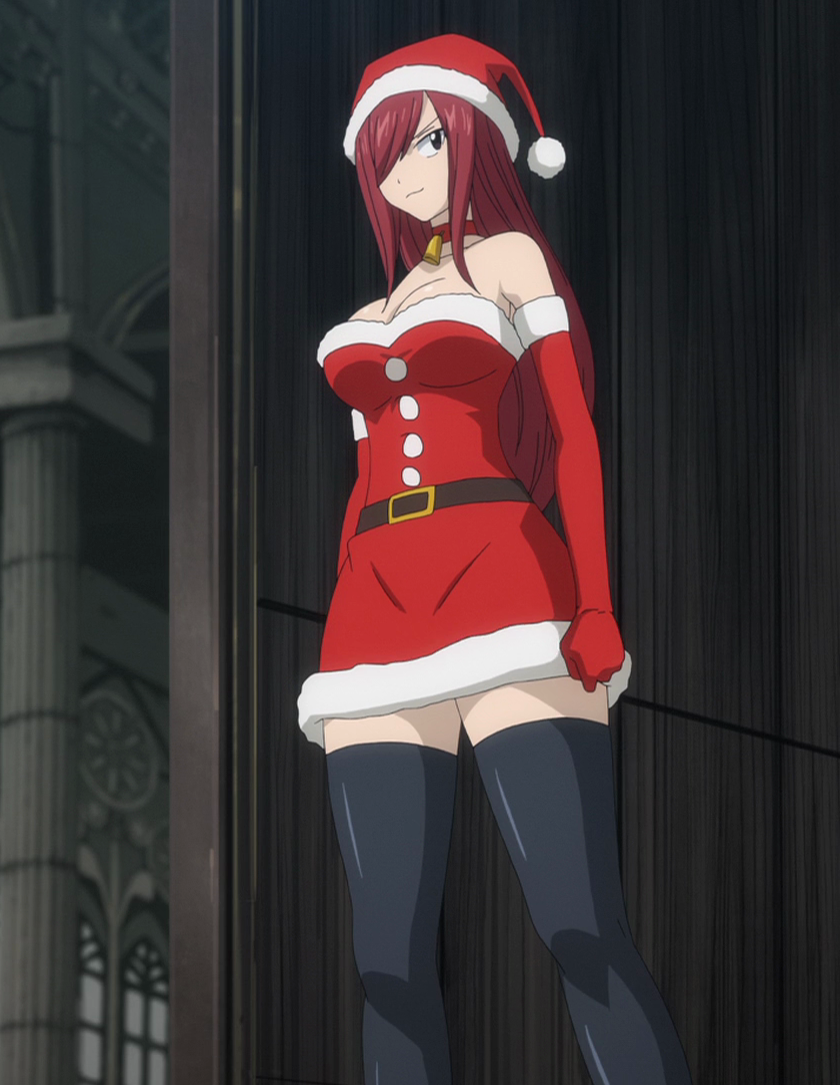 Image - Erza's Christmas attire.png | Fairy Tail Wiki | FANDOM ...
