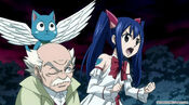 Wendy wants to save Natsu and Lucy