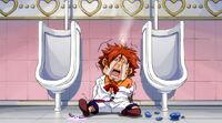 Ichiya beaten in the toilet