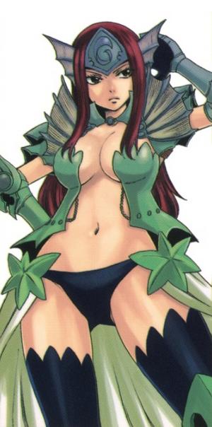 Sea Empress Armor (Manga)
