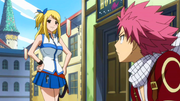 Lucy meets Natsu