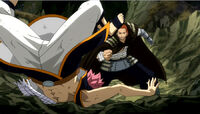 Gildarts beats Natsu
