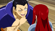 Enter Bacchus and Erza