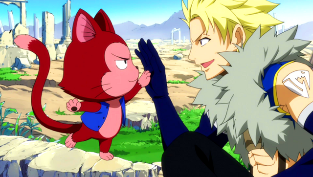 File:Sting and Lector's high-five.png