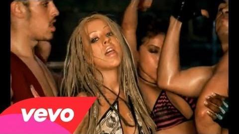 Christina Aguilera featuring Redman - Dirrty