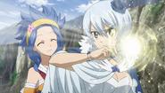 Yukino powering up Polaris