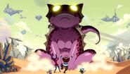 Edo pink frog