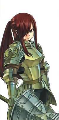 Erza's new armor