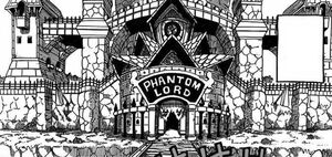 Fairy Tail Phantom Lord's Base in the Manga