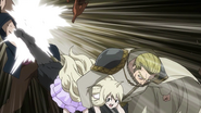 Precht and Mavis face Blue Skull