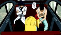 Kageyama Talks to Gray and Lucy