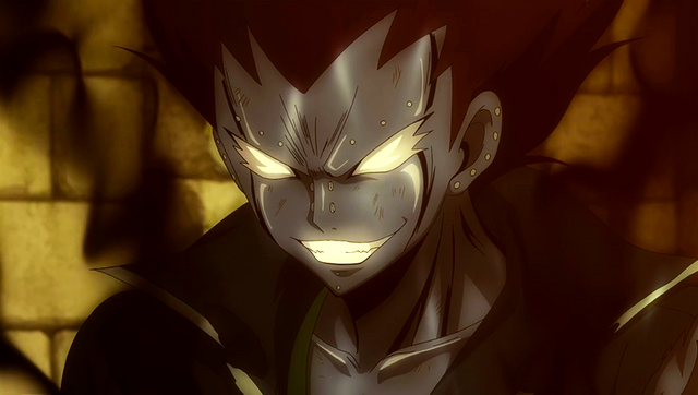 File:Gajeel combines iron and shadow.png