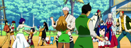 Fairy Tail Mages dancing