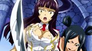 Minerva stabs Kagura