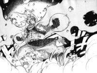 Natsu's fury - Phantom Lord