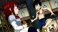 Erza and Gray as kids