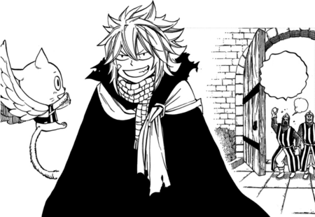 Natsu and Happy leave unpunished