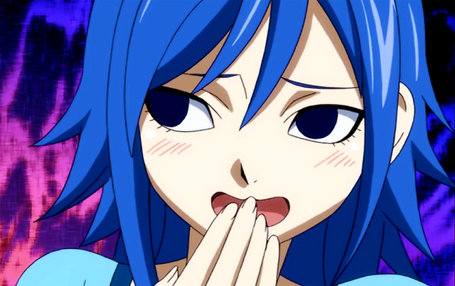 File:Juvia when she add spicy soup to the Lucy's tea.png