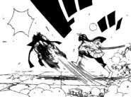Kagura Kicking Erza