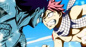 Natsu Dragneel vs. Gajeel Redfox Rematch